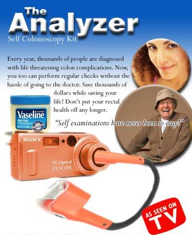 CLUB GIGGLE colonoscopy-kit Club Giggle's Top 5 Moronic Products