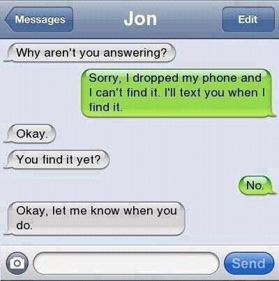 CLUB GIGGLE image001-1 6 Hilarious Texts Messages