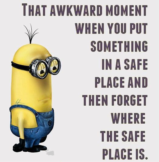 CLUB GIGGLE when-you-start-to-go-senile 10 Minion Jokes Of The Day  3/30/17