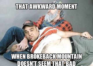 CLUB GIGGLE 227 That Awkward Moment When Brokeback Mountain Doesn't Seem That Bad