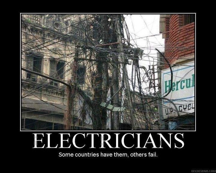 CLUB GIGGLE best-electrician Club Giggle's Funny Pictures Of The Day 4/1/2017