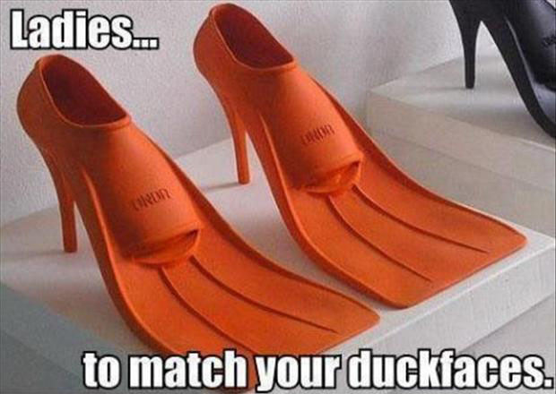 CLUB GIGGLE duckface-shoes Club Giggle's 10 Funny Pictures Of The Day  4/7/2017