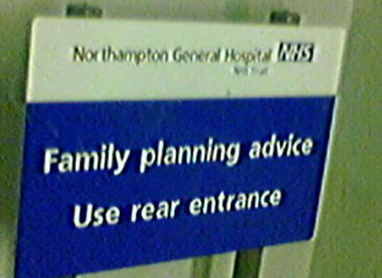 CLUB GIGGLE nhs-giving-you-an-advice 21 Funny Signs From Around The World