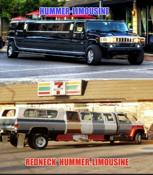 CLUB GIGGLE redneck-hummer Club Giggle's 6 Funny Redneck Pictures 4/14/2017