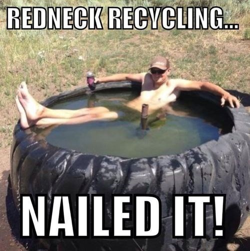 CLUB GIGGLE redneck-reccling Club Giggle's 6 Funny Redneck Pictures 4/14/2017
