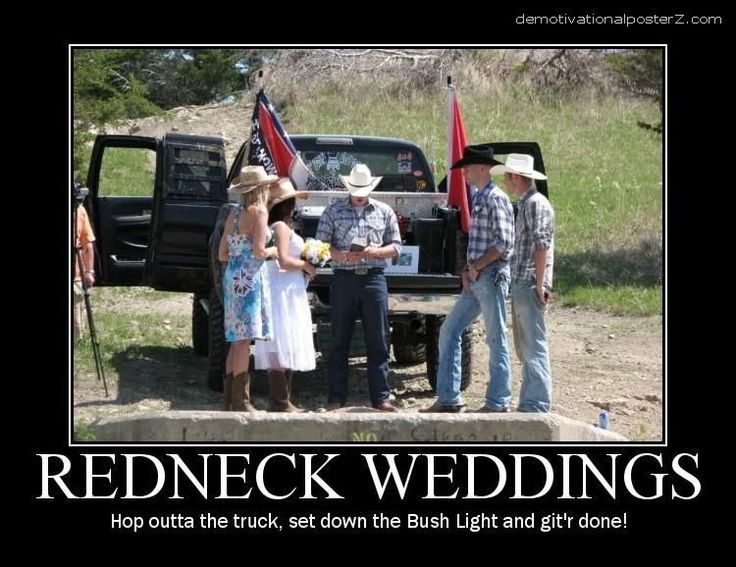 CLUB GIGGLE redneck-wedding Club Giggle's 6 Funny Redneck Pictures 4/14/2017