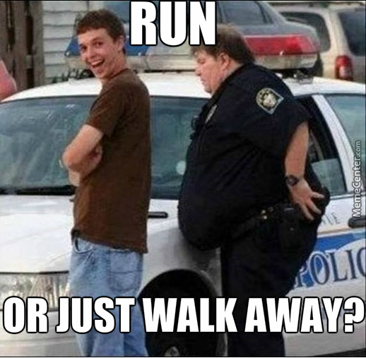CLUB GIGGLE run Club Giggle's Funny Police Pictures 4/13/2017