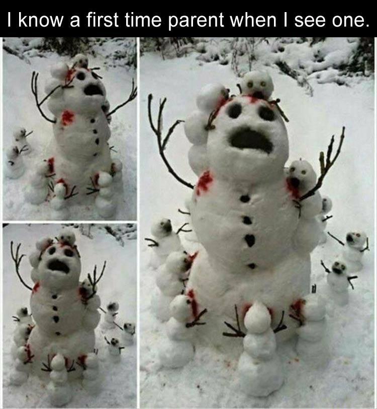 CLUB GIGGLE snowman-parent First Time Parent4/3/2017