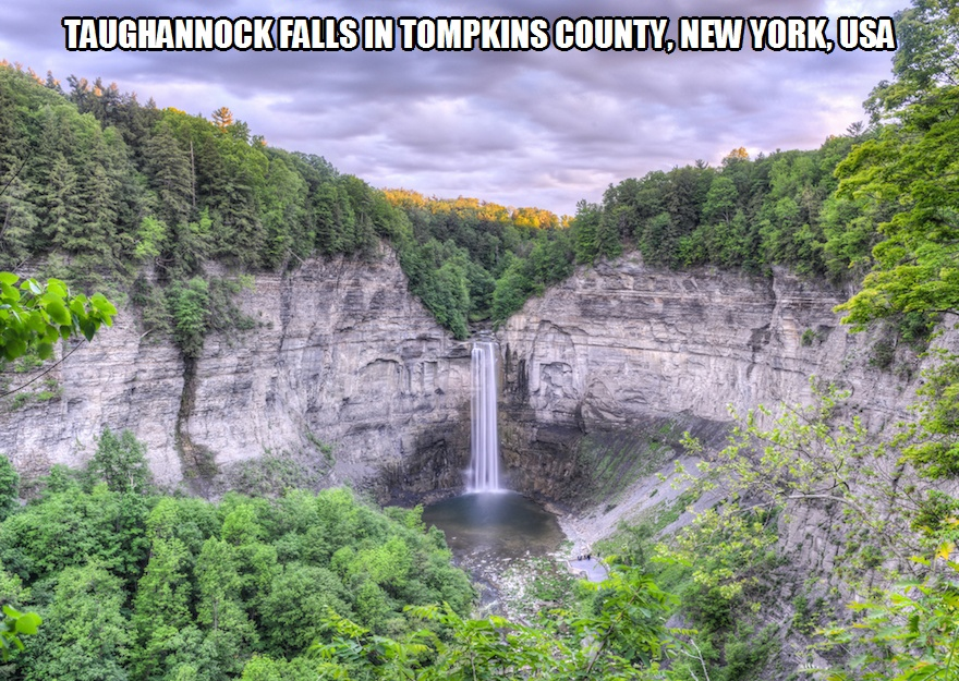CLUB GIGGLE taughannock-falls Club Giggle's 10 Most Breathtaking Waterfalls In The World