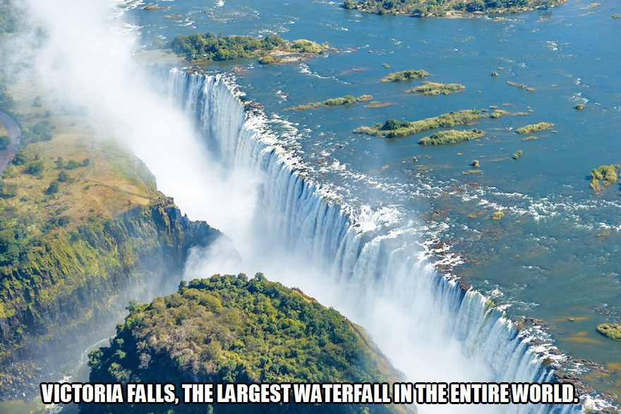 CLUB GIGGLE victoria-falls Club Giggle's 10 Most Breathtaking Waterfalls In The World