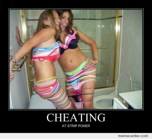 CLUB GIGGLE Cheating-At-Strip-Poker_c_93055 Club Giggle Brings You 10 Funny Pictures For 5/12/17
