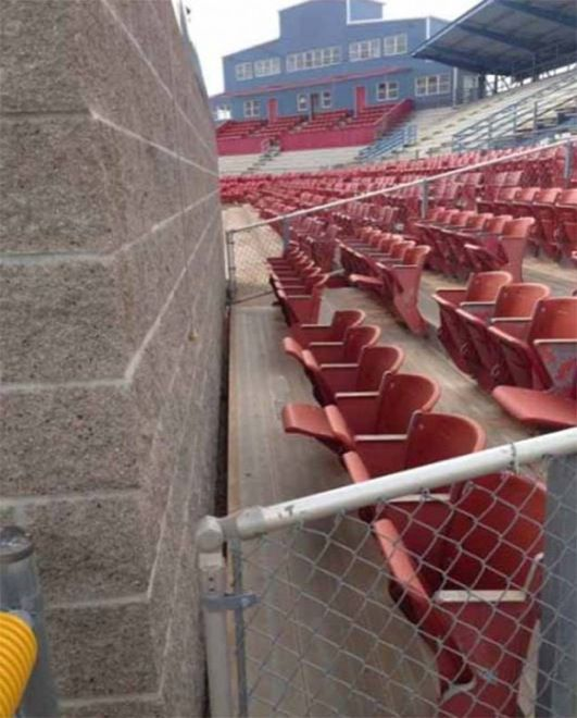 CLUB GIGGLE baseball-wall 24 Most Insanely Stupid Engineering Fails