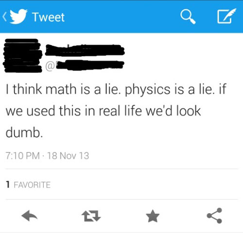 CLUB GIGGLE math-lie Club Giggle's 15 Stupid Tweets of all time5/11/2017