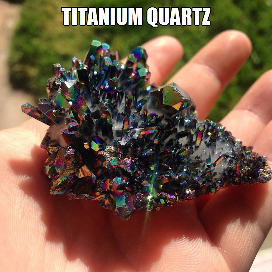 CLUB GIGGLE titanium-quartz 17 World's Most Amazing Minerals And Gemstones 5/2/2017
