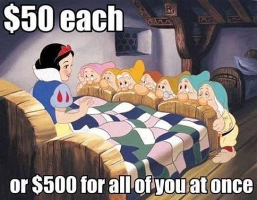 CLUB GIGGLE 33-snow-white-hooker-memem Club Giggle Brings You 15 Funny Pictures For The Day Of 6/7/17
