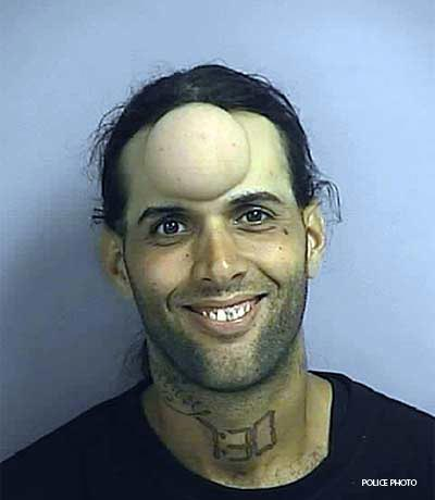 CLUB GIGGLE funny-wtf-mugshots-forehead-bubble 24 Hilarious Collection Of Funny Mug Shots