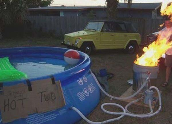 CLUB GIGGLE hot-tub Club Giggle's 62 Red Neck Inventions