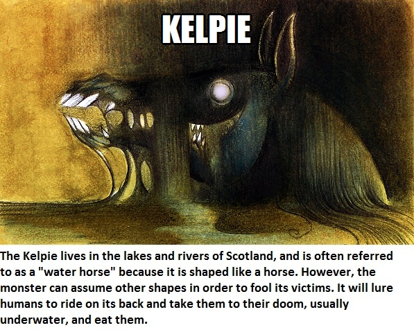 CLUB GIGGLE kelpie Club Giggle's 16 most disturbing mythical creatures from around the world
