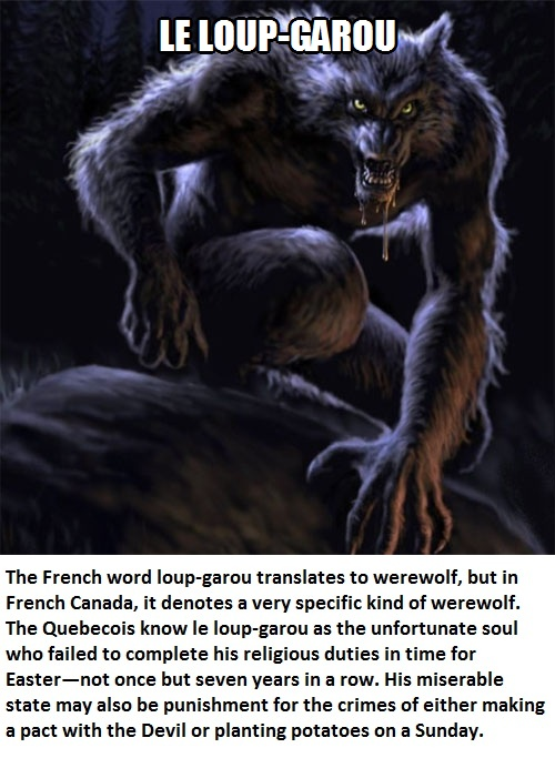 CLUB GIGGLE werewolf Club Giggle's 16 most disturbing mythical creatures from around the world