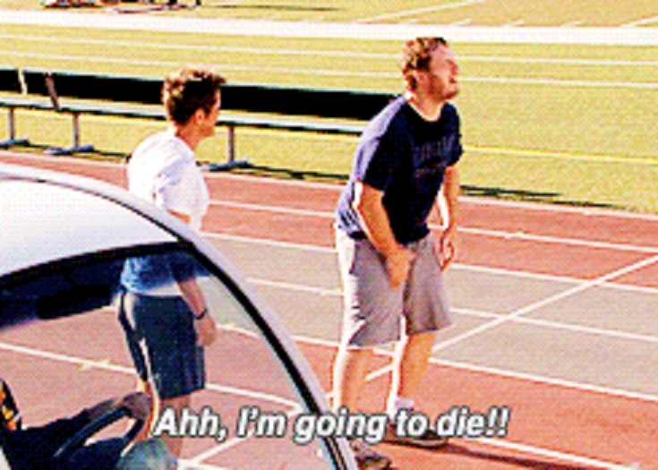 When You Decide To Go For A Run After Drinking All Weekend........