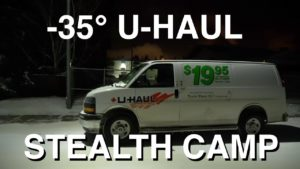 CLUB GIGGLE u-haul-stealth-camping-in-35-deg-300x169 Club Giggle's Funny Pictures of the Day...
