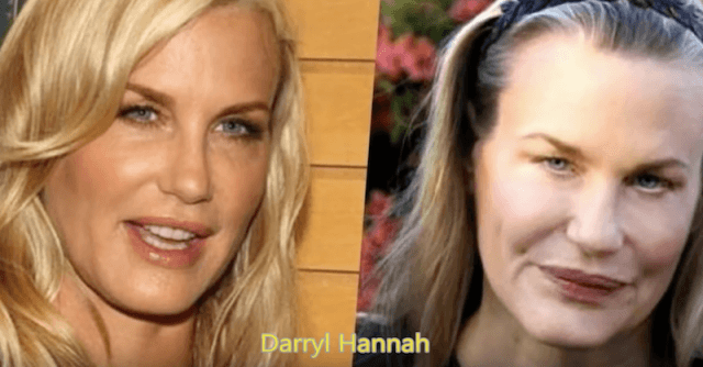 CLUB GIGGLE Darryl-Hannah-640x334 30 Celebrity Plastic Surgery Disasters Before and After Pictures...