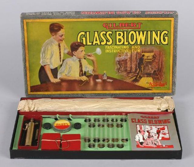 CLUB GIGGLE glass-blowing 15 Dangerous Toys Kids Today Are Missing Out On