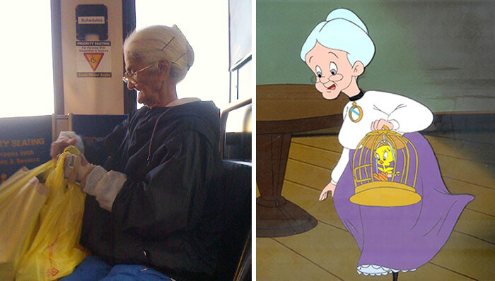 CLUB GIGGLE 59ccea1b7194a-cartoon-real-life-lookalikes-7-57d69908427fa__700 24 Real Life Doppelgangers...