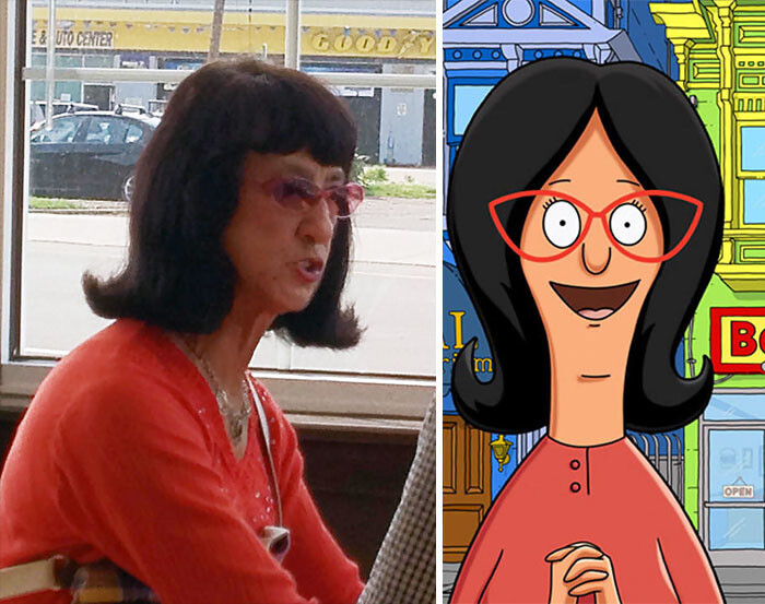CLUB GIGGLE 59ccea1d07bf6-cartoon-real-life-lookalikes-43-57d6995042bbc__700 24 Real Life Doppelgangers...
