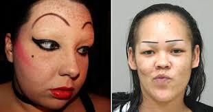 CLUB GIGGLE eyebrow-tattoo-fail13 29 Angry Birds Eyebrow Tattoo Fails ....