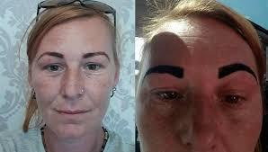 CLUB GIGGLE eyebrow-tattoo-fail21 29 Angry Birds Eyebrow Tattoo Fails ....