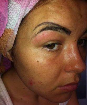 CLUB GIGGLE eyebrow-tattoo-fail44 29 Angry Birds Eyebrow Tattoo Fails ....