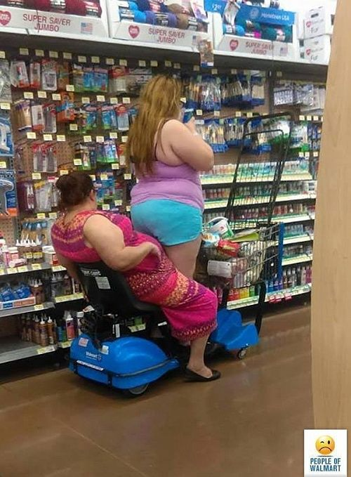CLUB GIGGLE people-of-walmart5 36 Pictures of People of Walmart