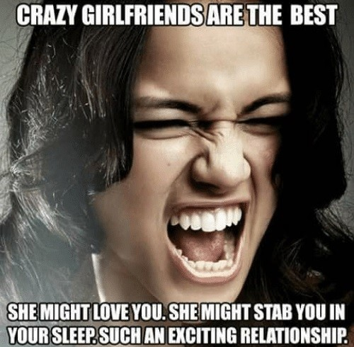 CLUB GIGGLE rodriguez_crazy_girlfriend 25 Funny Pictures from the Dark Side