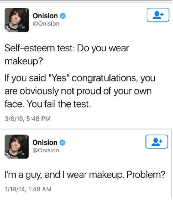 CLUB GIGGLE wearing-makeup Top 23 Dumb Tweets That will Make You Dumber