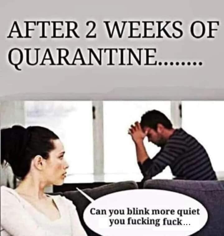CLUB GIGGLE after-2-weeks-of-quarentine 31 Funny Quarantine Memes to Reduce Your Boredom...