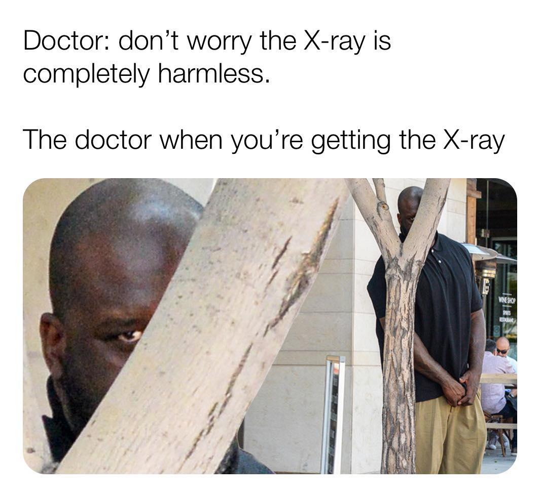 CLUB GIGGLE doctor-taking-xray 28 Funny Memes From The Dark Side....