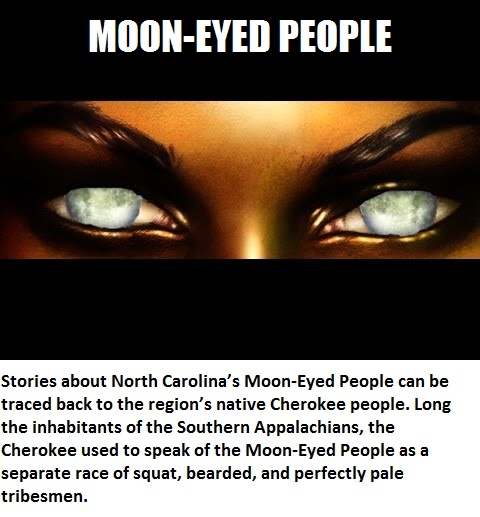 CLUB GIGGLE moon-eyed-people 20 Weird And Mythical Creatures of The World....