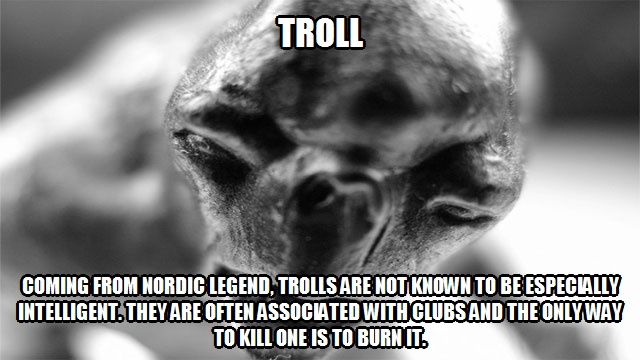 CLUB GIGGLE troll 20 Weird And Mythical Creatures of The World....
