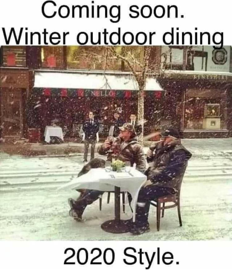 CLUB GIGGLE winter-outdoor 29 Covid Free Funny Memes....