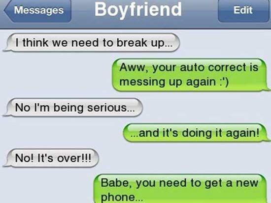 CLUB GIGGLE Awkward-Breakup-Texts5 20 Awkward Break Up Texts...