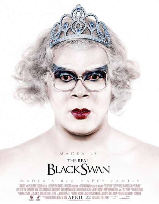 CLUB GIGGLE Madea-BlackSwan-Poster-Pic1 Top 36 Funny Fake Movie Posters....