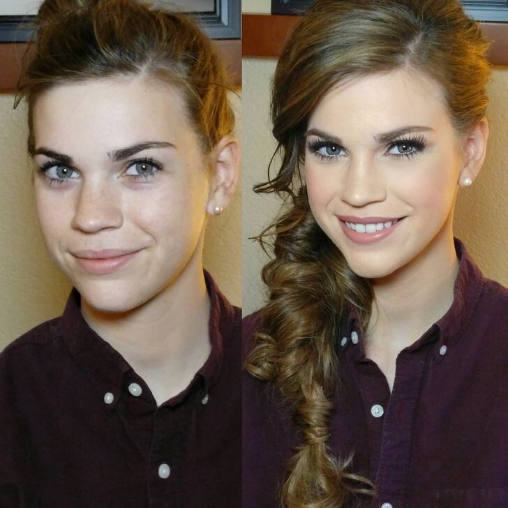 CLUB GIGGLE bridal-makeup15 13 Reasons Men Have Trust Issues.....
