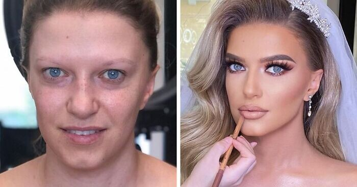 CLUB GIGGLE bridal-makeup16 13 Reasons Men Have Trust Issues.....