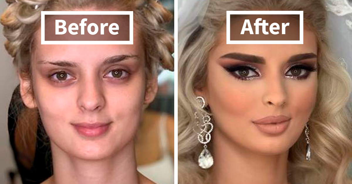 CLUB GIGGLE bridal-makeup3 13 Reasons Men Have Trust Issues.....