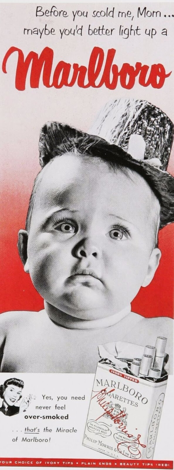 CLUB GIGGLE creepy-ads12 Top 24 Vintage Ads With Creepy Children....