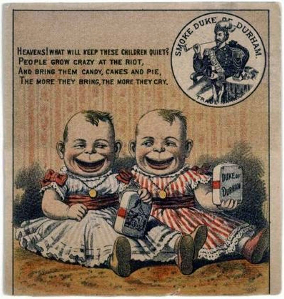 CLUB GIGGLE creepy-ads18 Top 24 Vintage Ads With Creepy Children....