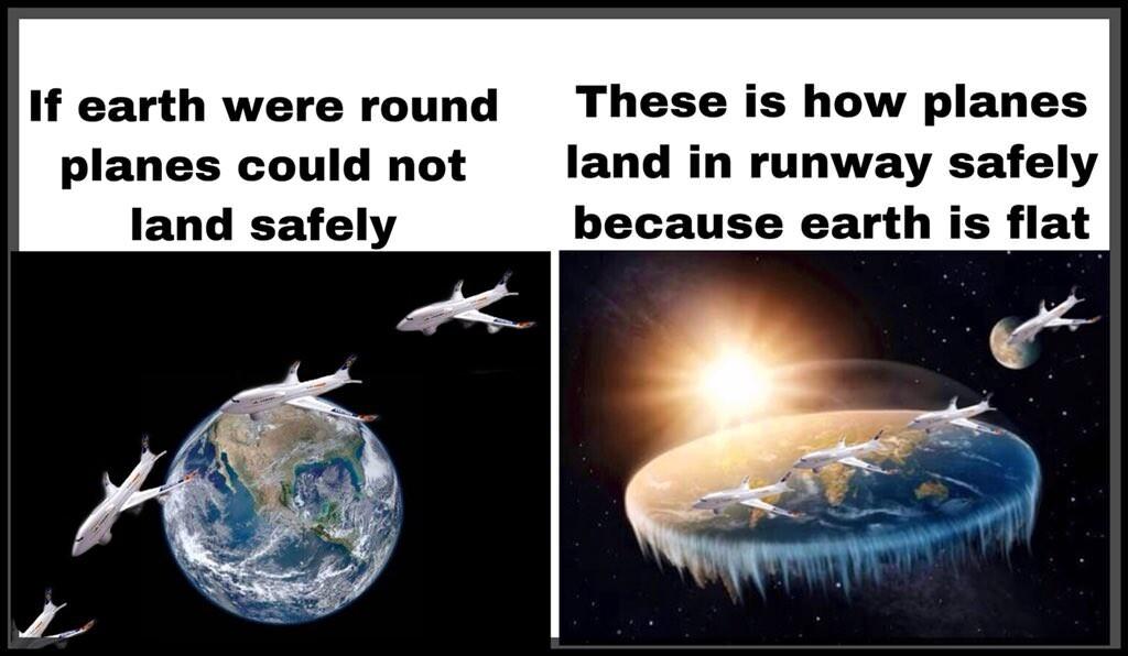 CLUB GIGGLE flat-earth-meme1 29 Hilarious Flat Earth Meme On The Internet...