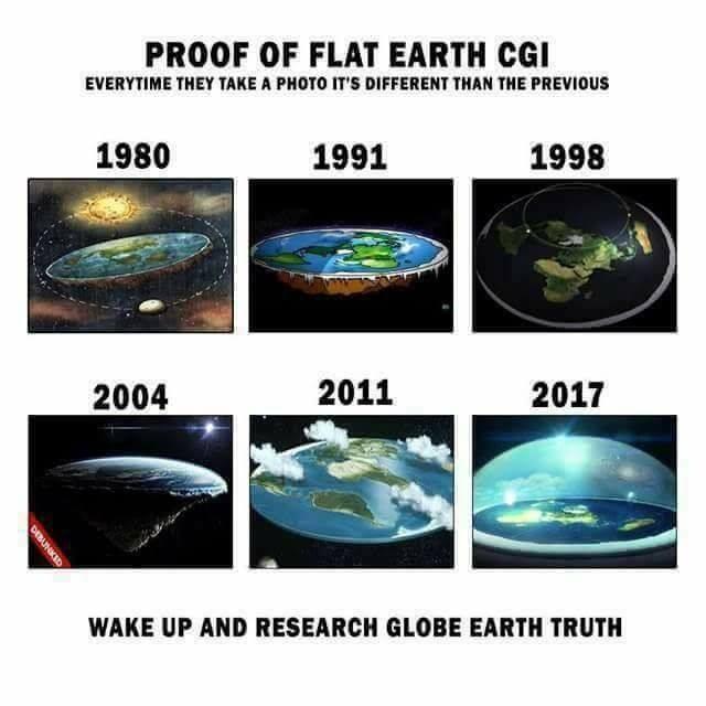 CLUB GIGGLE flat-earth-meme28 29 Hilarious Flat Earth Meme On The Internet...