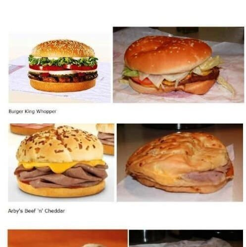 CLUB GIGGLE food-youre-advertised-vs-the-food-youre-served 20 Pictures Of Deceptive Fast Food Vs Reality...
